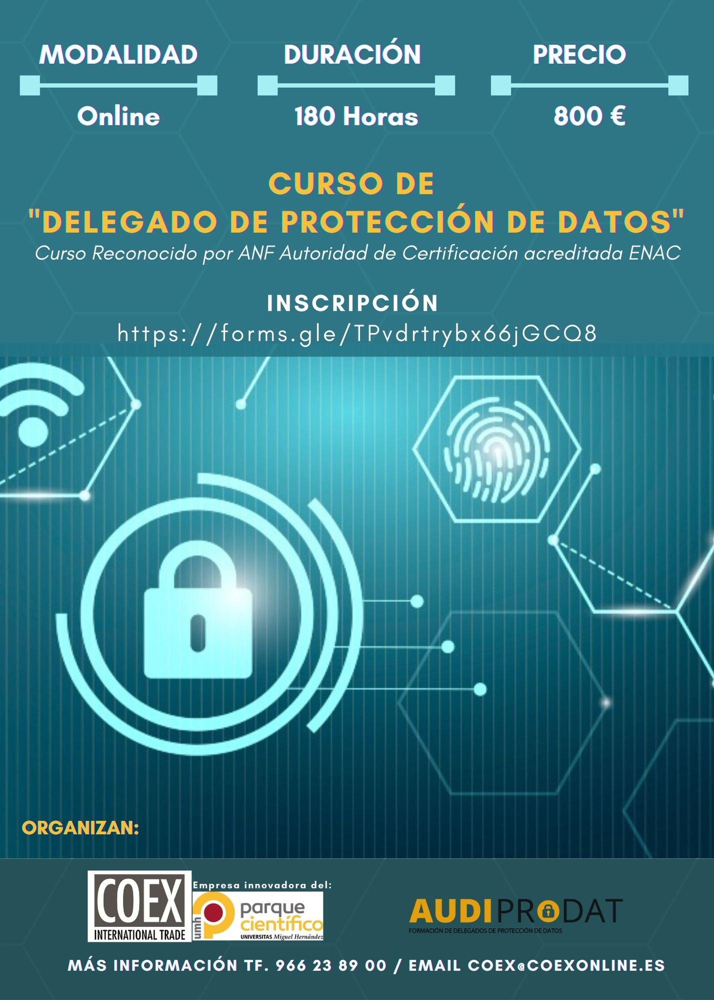 CURSO DE _DELEGADO DE PROTECCIÓN DE DATOS