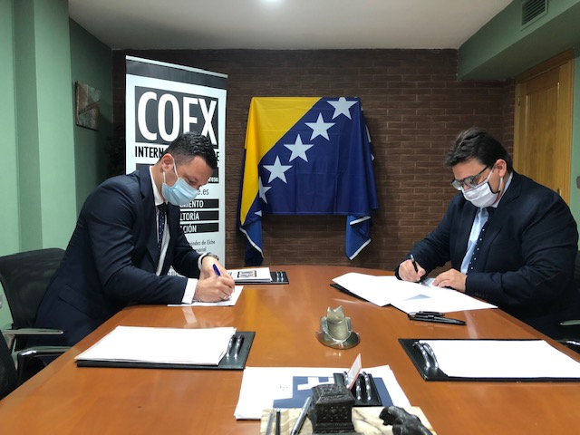 "Featured image for ""El Consulado de Bosnia-Herzegovina firma un convenio de colaboración con COEX International Trade"""