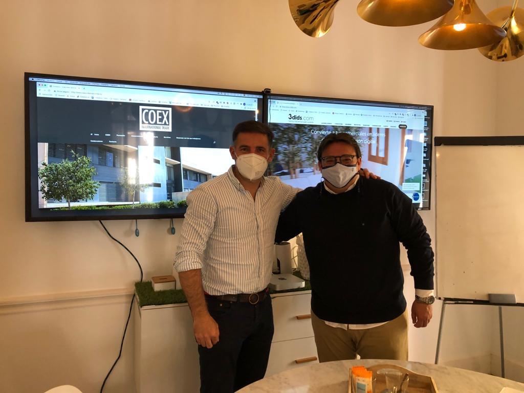 """Featured image for """"COEX International Trade firma un convenio de colaboración con 3dids"""""""